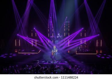 Orlando, Florida / U.S.A. 8-30-2017: Goo Goo Dolls performing at the Hard Rock Live Orlando