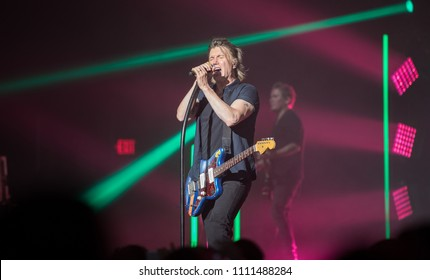 Orlando, Florida / U.S.A. 8-30-2017: Goo Goo Dolls performing at the Hard Rock Live Orlando
