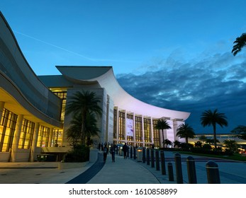 Orlando, Florida, USA - March 3 2019 - The Orange County Convention Center on International Drive, for conferences