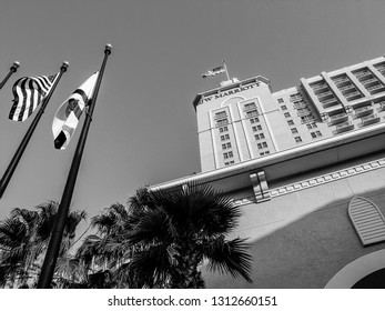 ORLANDO, FLORIDA, USA - MAY 20, 2007: The JW Marriott Orlando hotel becomes to  Grande Lakes luxury complex with large golf area on May 20, 2007.