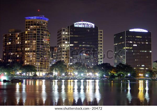 Orlando Flroida at night