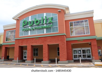 Orlando, FL-USA August 11, 2019: Publix, is an employee-owned, American supermarket chain headquartered in Lakeland, Florida.