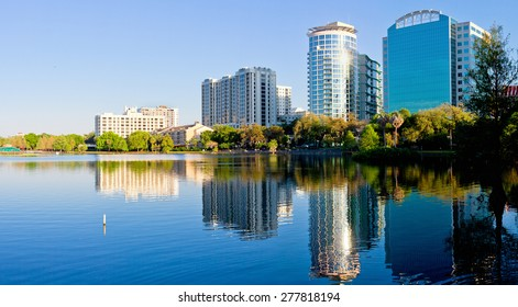 Orlando Skyline in Summer