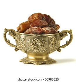 An ornamental of ripped dates