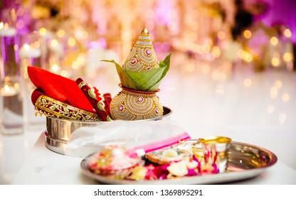Ornaments of the Indian wedding