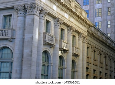 Ornate architecture in downtown Oklahoma City