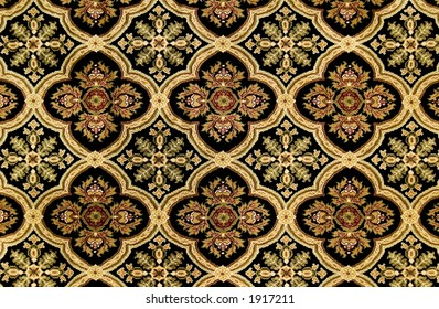 Ornate carpet pattern