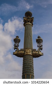 Ornate Light post in Paris