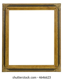 Ornate Picture Frame with path for image