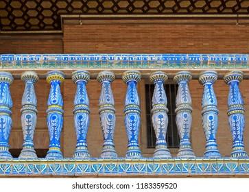 Ornate railing details