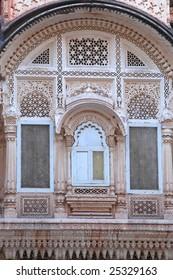Ornate window design