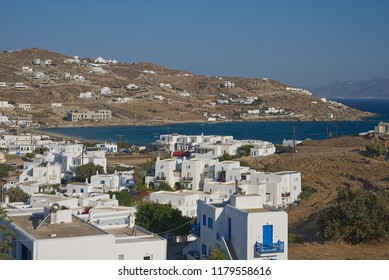 Ornos village - Mykonos island - Aegean sea - Greece