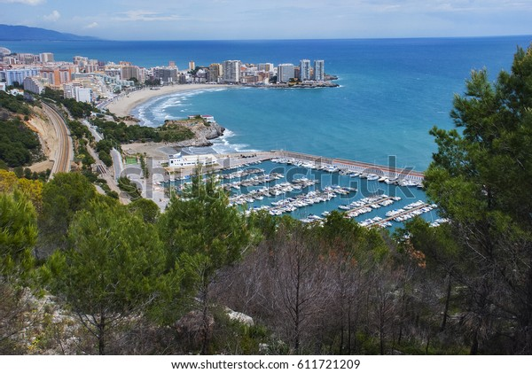 Oropesa landscape, a town by the sea
