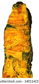 the orpiment (auripigment, yellow arsenic; yellow ratebane)