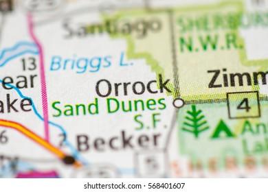 Orrock. Minnesota. USA