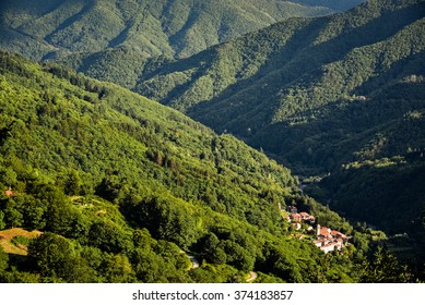Orsigna mountain village tuscany italy