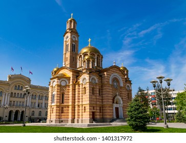 The Orthodox Cathedral of Christ the Redeemer in Banja Luka, Bosnia and Herzegovina - Shutterstock ID 1401317972