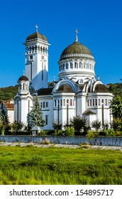 Orthodox cathedral of Sighisoara. Situated on the Northern shore of the Tarnava Mare, dedicated to the Saint Trinity