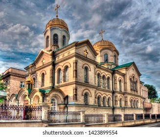 Orthodox Cathedral of the Transfiguration of the Saviour is a beautiful church, one of the main attractions in Chisinau - Kishinev, Republic of Moldova.