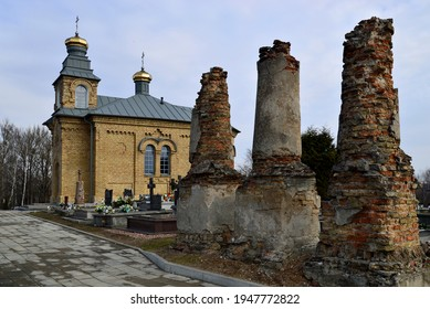 Orthodox cemetery chapel dedicated to the holy martyr Paul built in 1901 in the town of Sokółka in Podlasie, Poland - Shutterstock ID 1947772822