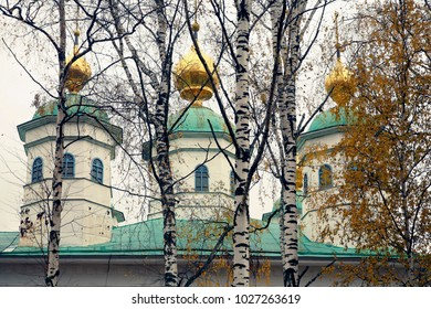 Orthodox Christian church in russia