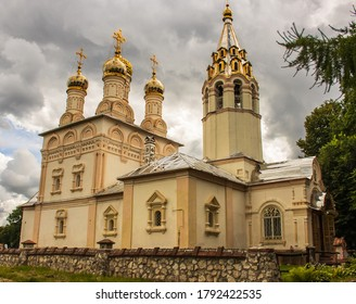 Orthodox Church in the ancient Kremlin of Ryazan. Russia.