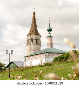 The Orthodox Church and bell tower in Suzdal