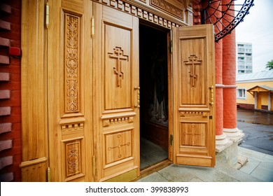 Orthodox church: the door is open