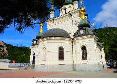 Orthodox church in Foros, Crimea