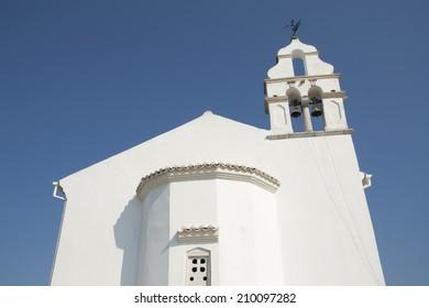 Orthodox church in Gouvia, Corfu island, Greece