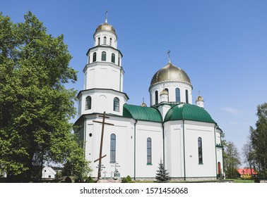 Orthodox church in Grodek, Podlasie - Shutterstock ID 1571456068