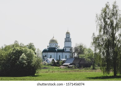 Orthodox church in Grodek, Podlasie - Shutterstock ID 1571456074
