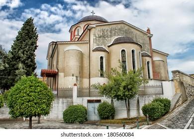 Orthodox church in Kavala, Greece