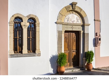 Orthodox church near Zia village, Kos island, Greece