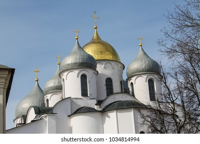 The Orthodox Church, Novgorod the Great, Golden dome