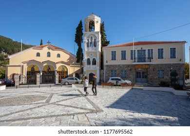 Orthodox Church in Old Town of Xanthi, East Macedonia and Thrace, Greece 05-11-2017