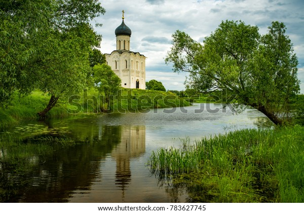 Orthodox Church Pokrova na Nerli, Golden Ring of Russia, Vladimir