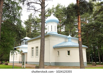 Orthodox Church at the Porvoo Cemetery, Finland