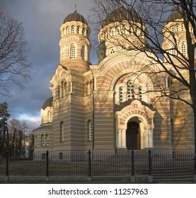 The Orthodox Church in Riga, Latvia