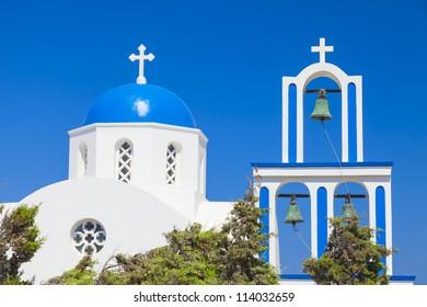 orthodox church at Santorini island,Greece