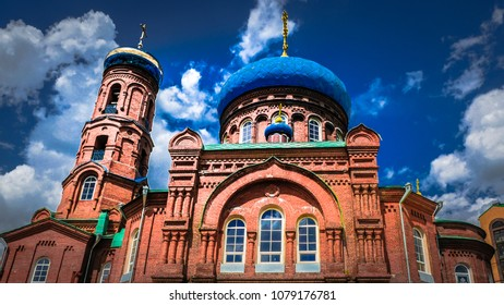 Orthodox Church in a Siberian city of Barnaul in Russia