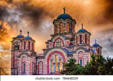 Orthodox church St. Marco in the Belgrade, Serbia
