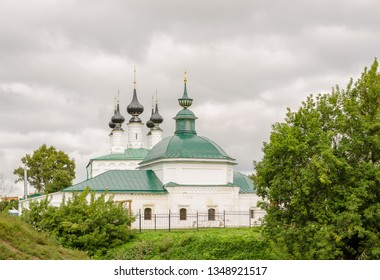 The Orthodox Church in Suzdal. Suzdal is one of the oldest Russian cities.