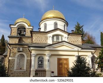 Orthodox church of the Transfiguration, historic building, Sochi, Russia