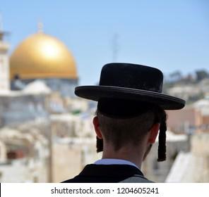 An orthodox Jew in Jerusalem