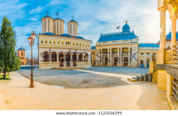 Orthodox Patriarchal cathedral of Bucharest city, Romania