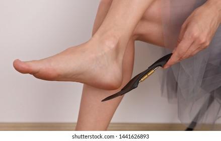 Orthopedic insole. Flat Feet Correction. Posture correction
