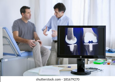 Orthopedics Consultation Man