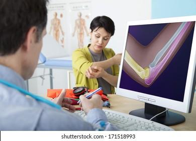 Orthopedics Consultation Woman