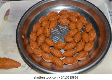 Oruk, homemade icli meatball in Antakya - Hatay